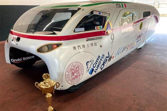 Emilia 4LT, l'auto solare Unibo, vince l'European Solar Challenge
